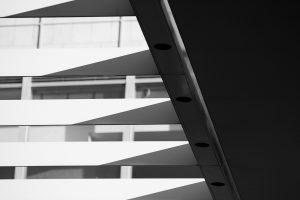 black and white architectural photographer