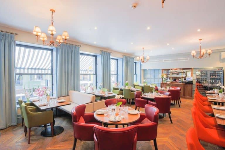 interior restaurant photography by london interior photographer